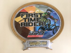 First Time Rider Plaque