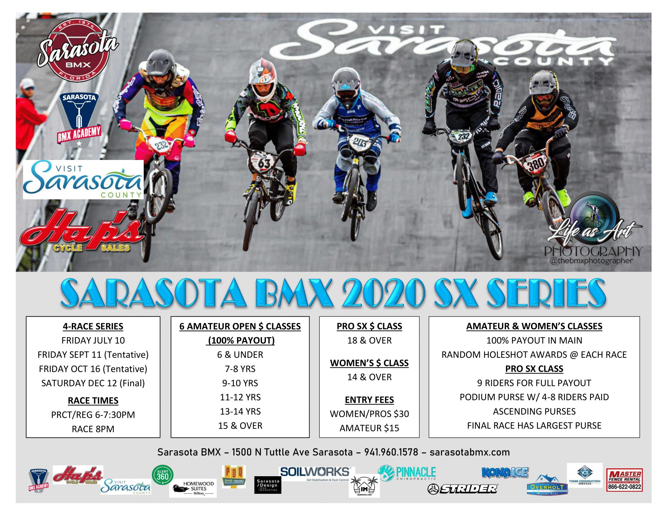 Sarasota BMX 2020 SX Series