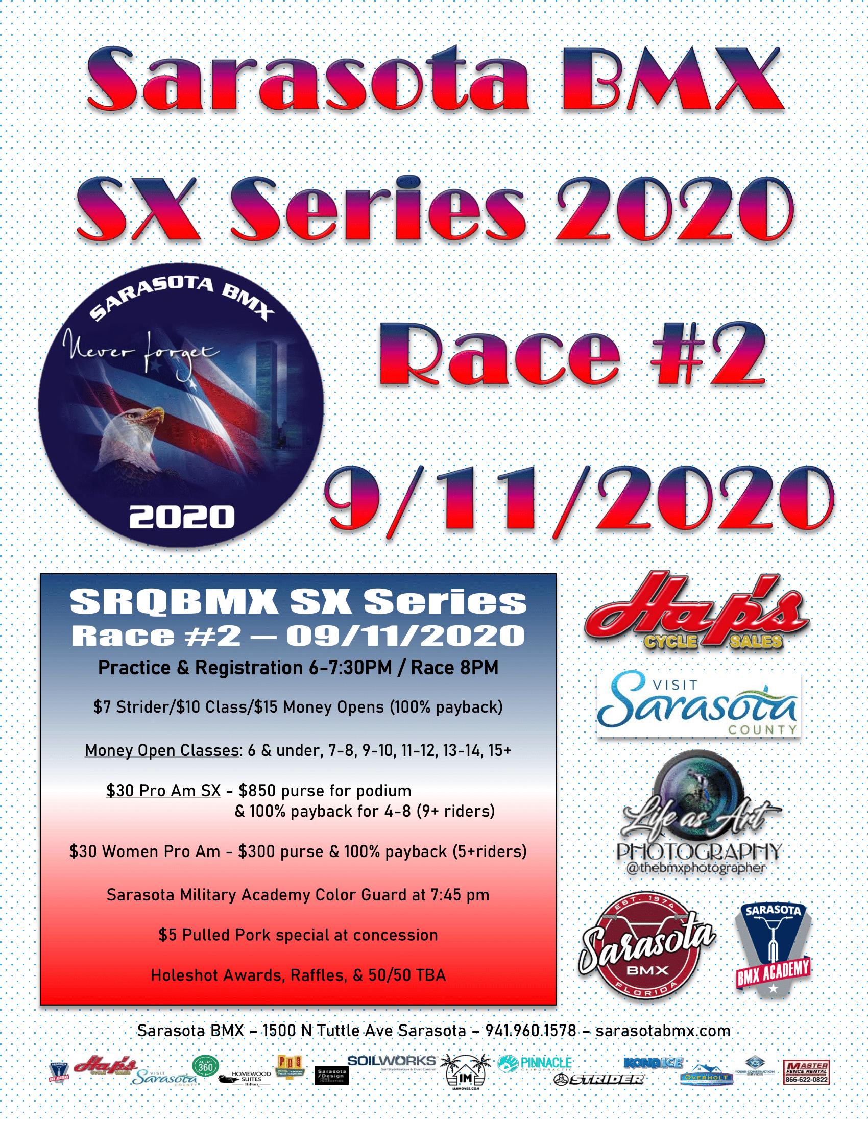 Sarasota BMX 2020 SX Series Race #2