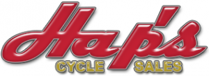 Hap's Cycle Sales Logo
